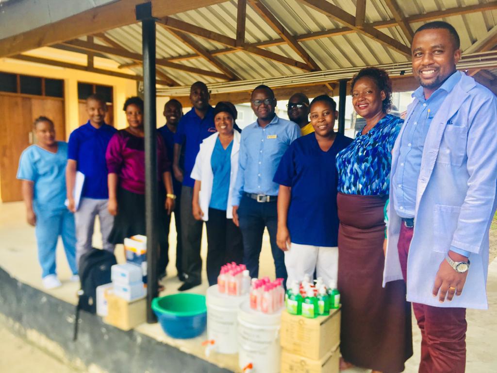 Projekt zur Bekä̈mpfung von COVID-19 in Tansania