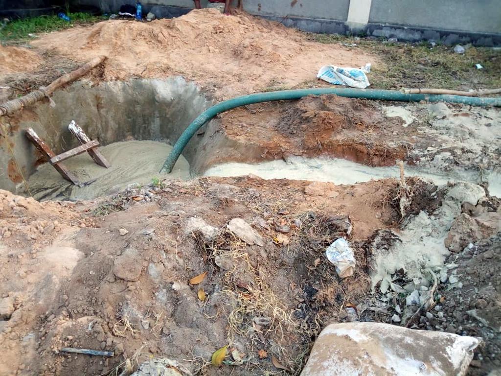 Wasserprojekt in Majimatitu